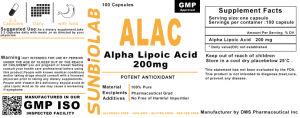 Thioctic Acid (Lipoic Acid) Capsule 200mg GMP Factory pictures & photos