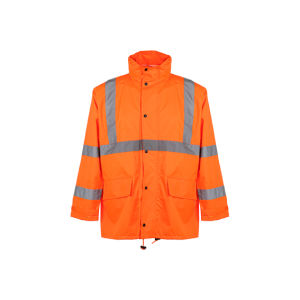 Winter Reflective Safety Rain Coat (ANSI/ISEA107-2010)