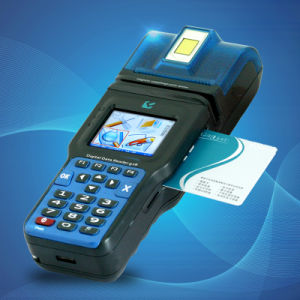 Handheld POS Terminal with Fingerprint (CP12) pictures & photos