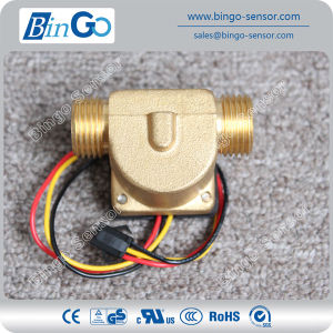 G1/2′′ Brass Water Flow Sensor, Liquid Flow Sensor Price for Drinking Water pictures & photos