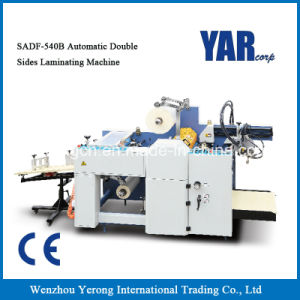 Economical Automatic Glueless Film Laminator Machine for Small Factory pictures & photos