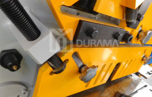 Hydraulic Ironworker, Cutting, Ironwork Machine, Universal Punching & Shearing Machine / Punching Machine pictures & photos