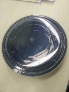 Small Round Soup Bowl with Airtight Lid 450ml pictures & photos