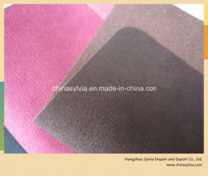 Embossed Shoe Lining Leather Bag Leather pictures & photos