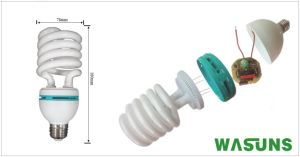 45W Half Spiral E27 B22 Energy Lamp with Ce RoHS pictures & photos