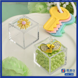 Clear Mini Acrylic Candy Box for Gift pictures & photos