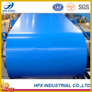 Color Coated Galvanized Steel Coil PPGI with Painting 15/5 Microns pictures & photos