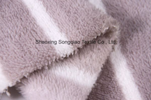 Printed Polyester Flannel/Coral Fleece Fabric - 14107-2 1# pictures & photos