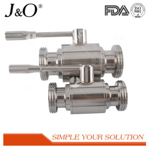 Saniary Stainless Steel Direct Way Ball Valve pictures & photos