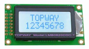 8X2 Character LCD Module Alphanumeric COB Type LCD Display (LMB0820 Serials) pictures & photos