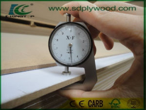 White Melamine Paper Laminated 15mm MDF for Furniture pictures & photos