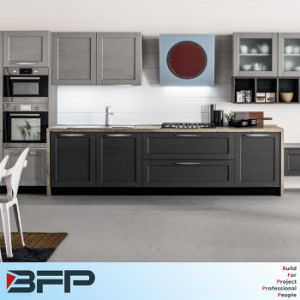 Kitchen Furniture Wooden PVC Kitchen Cabinet pictures & photos