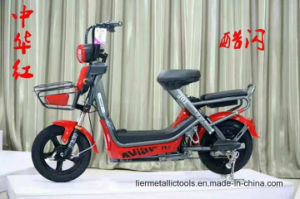 2017 New Design 48V 350W Lead-Acid Battery Electric Scooter Moped pictures & photos