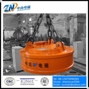 1200 mm Lifting Electromagnet for Steel Ball Lifting MW5-120L/1 pictures & photos