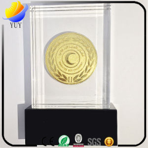 Distinctive Modelling of Marble Acrylic Medal pictures & photos