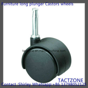 PRO Wholesale Free Sample Nylon Long Plunger Swiver Office Table Casters pictures & photos