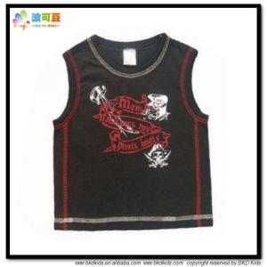 100% Cotton Baby Clothes Sleeveless Babies Tank Top pictures & photos