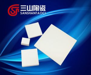 Alumina Thoracic Inserting Plate Bullet Proof Board 50*25*8mm pictures & photos