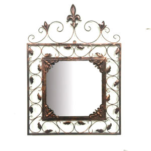 Antique Metal Wall Art Decoration Leaves Mirror pictures & photos