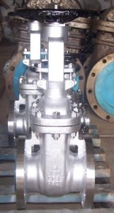 ANSI Standard Cast Steel Gate Valve with High Quality pictures & photos