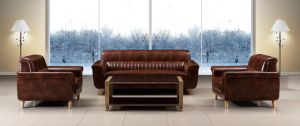 Best Selling Sofa Furniture Modern Leather Office Sofa (HX-CF015) pictures & photos