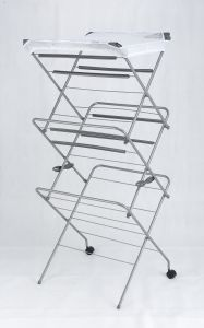 Painting Simple Airer Clothes Hanger 3tier with Flat Drying Net pictures & photos