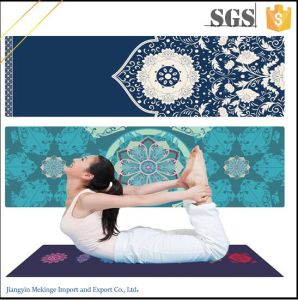 Chloride-Free Custom Yoga Mat Eco Friendly Yoga Mats Custom Printed pictures & photos