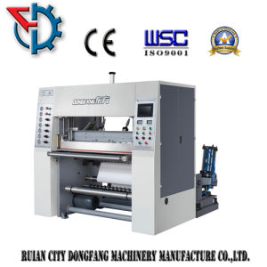 Carbonless Paper Roll Slitting and Rewinding Machine with EPC pictures & photos