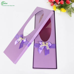 Custom Paper Gift Box with Window for Packaging (KG-PX081) pictures & photos