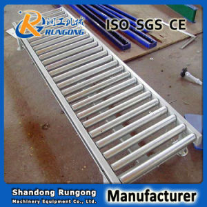 Double Chain Sprocket Roller Conveyor for Low Price pictures & photos