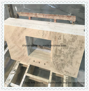 Chinese White Marble Countertop for Kitchen and Bathroom pictures & photos