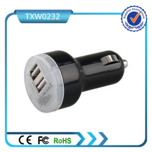 Car Charger with Single Cable Universal Mini USB GPS Car Charger for iPhone pictures & photos