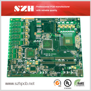 Shenzhen RoHS 4 Layers Fr-4 Immersion Gold PCB pictures & photos