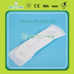 Competitive Price Mesh Cover Sanitary Napkin with Wings pictures & photos