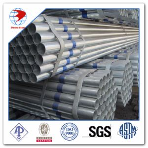 6 Inch Sch40 Q345 Seamless Galvalized Fluid Steel Pipe pictures & photos