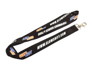 2017 Factory Supply Imprint Custom Polyester Neck Lanyard pictures & photos