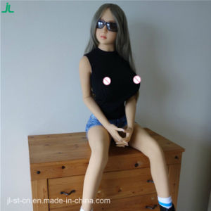 Best Selling Slender Tiny Adult Toys Realistic Silicone Sex Doll pictures & photos
