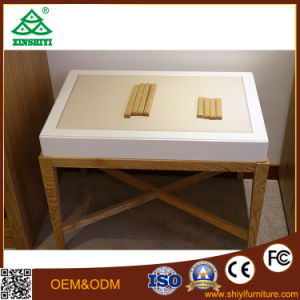 OEM White Ash Wood Bedroom Furniture Bedroom Set for Sale pictures & photos