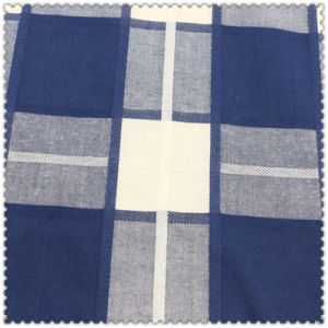 100% Cotton Fabric of Woven Checks for Women′s Tops