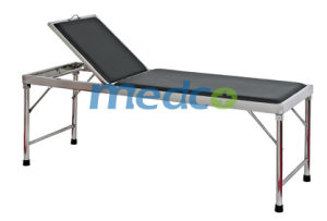 Stainless Steel Hospital Parturition Delivery Exam Table Bed for Operation pictures & photos