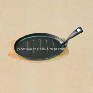 Cast Iron Mini Frypan with Preseasoned Coating pictures & photos