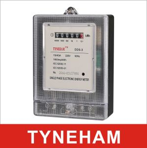 Dds-3 Series Single Phase Electronic Energy Meter pictures & photos