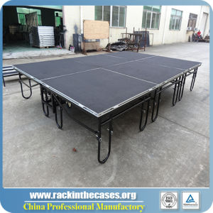 Portable Steel Folding Stage with Different Size pictures & photos