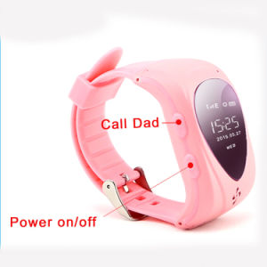 GSM GPRS GPS Tracker Kids Smart Watches Sos Anti-Lost Monitor Jm09 pictures & photos