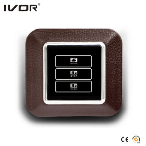 1 Gang Curtain Switch Leather Outline Frame (AXL-LE-CT(AC1)) pictures & photos