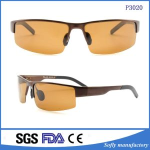 Men′s Sports Style Polarized Sunglasses Night Vision Driver Glasses P3020 pictures & photos