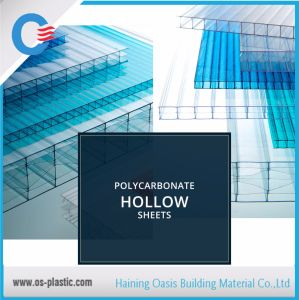 Polycarbonate Hollow Sheet Greenhouse Roofing Sheets pictures & photos