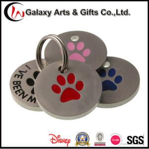 Identification Emblem Custom Round Engraved Metal Pet Tag