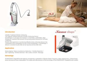 Velashape RF Vacuum Body Shaper Velasmooth Machines Anti Cellulite Velashape Cavitation Slimming Machine pictures & photos