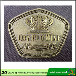 The High Quality Permanent Metal Sticker Label pictures & photos